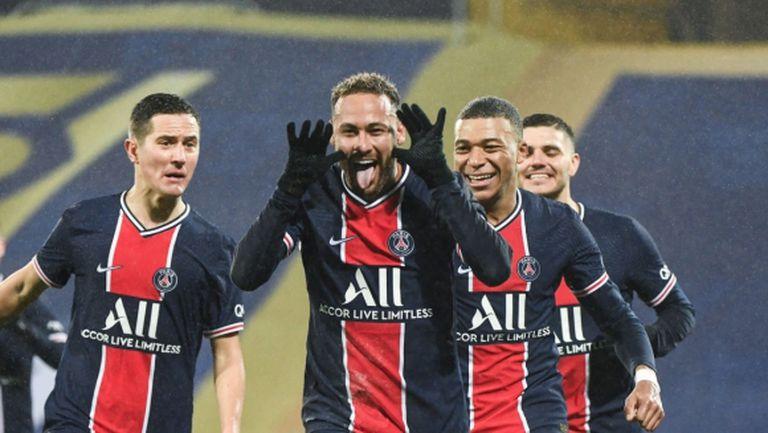 Неймар продължава заяждането с Марсилия