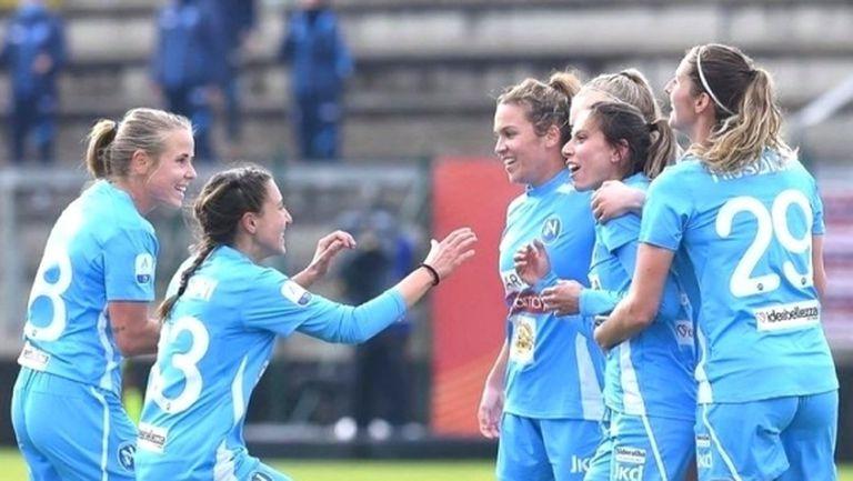 Евдокия Попадинова блести в Италия с гол срещу Рома (видео + снимки)