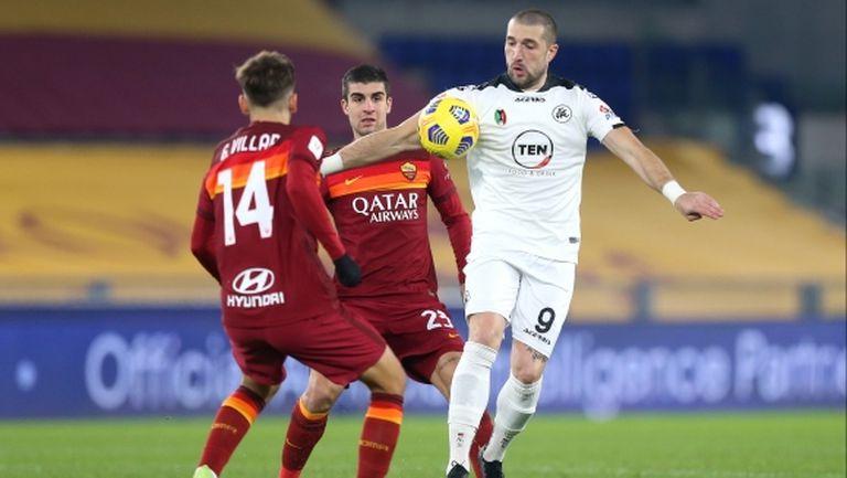 Нов сериозен гаф на треньора на Рома им носи втора служебна загуба през сезона