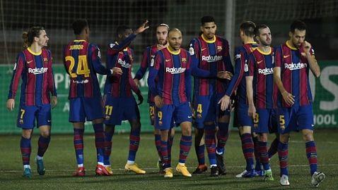 Барселона пропусна две дузпи, но си спести срама на Реал и Атлетико (видео)