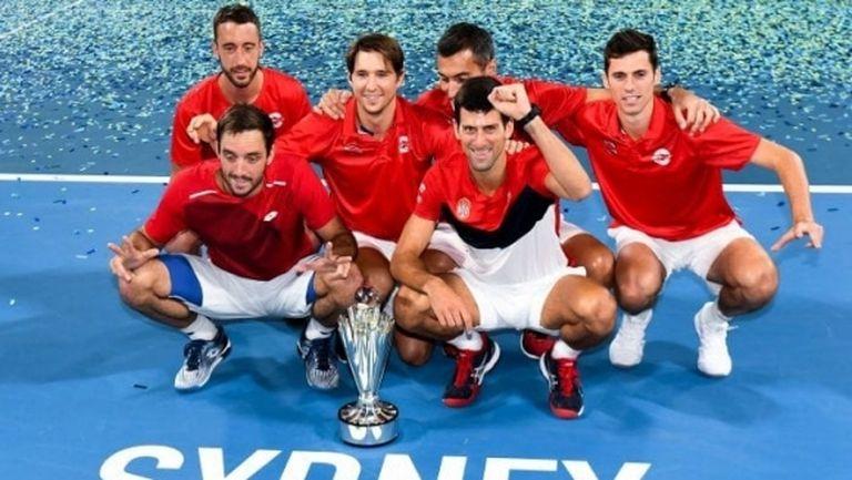 Сърбия започва защитата на титлата си в ATP Cup срещу Германия и Канада