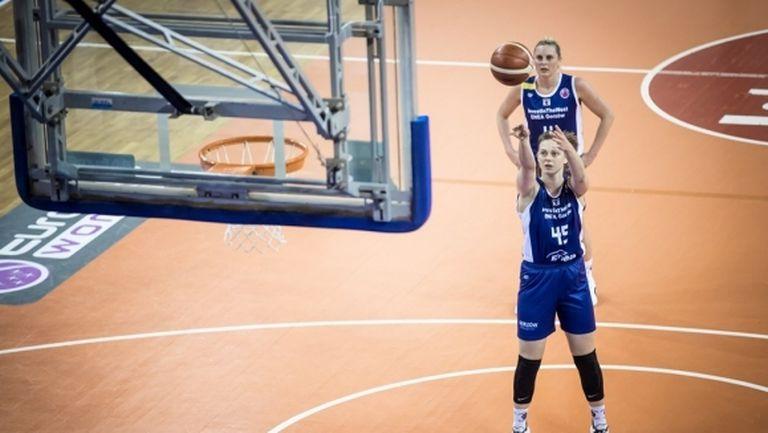 Борислава Христова избухна с 31 точки в Еврокъп и върна надеждите на Гожов