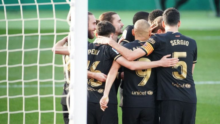 Барселона спечели и втория мач без Меси (видео)
