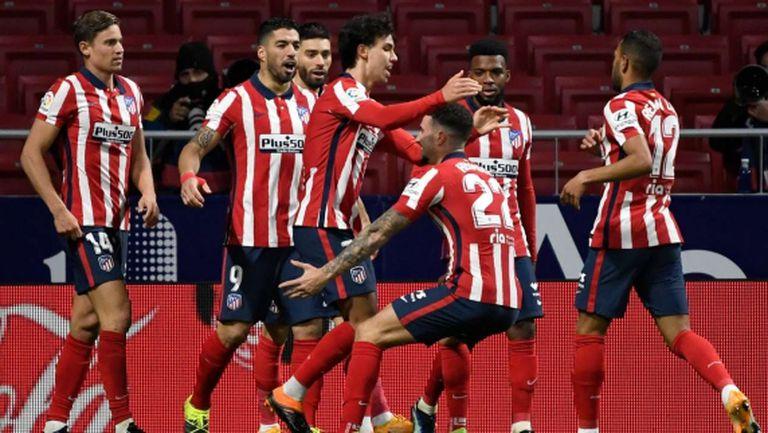 Атлетико Мадрид се откъсна със 7 точки на върха в Ла Лига (видео)