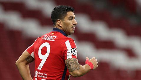 Босът на Атлетико Мадрид: Луис Суарес е най-добрият нападател в Европа