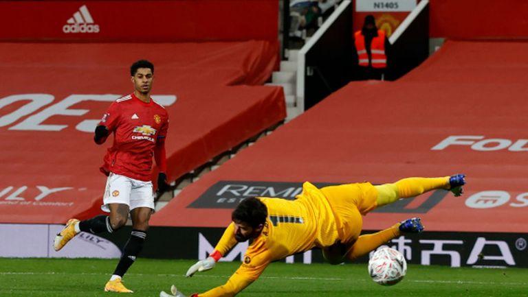 Рашфорд е на линия за мача с Шефилд Юнайтед