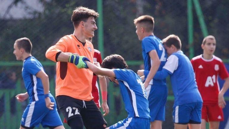 Левски U15 с нова победа в зимните контроли
