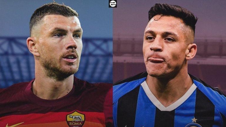 Интер и Рома готвят размяна на нападатели