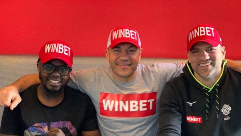 WINBET е официален спонсор на Тервел Пулев за мача му в Танзания