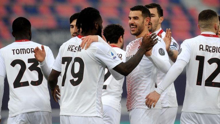 Милан се върна към победите, но Златан отново разочарова (видео)