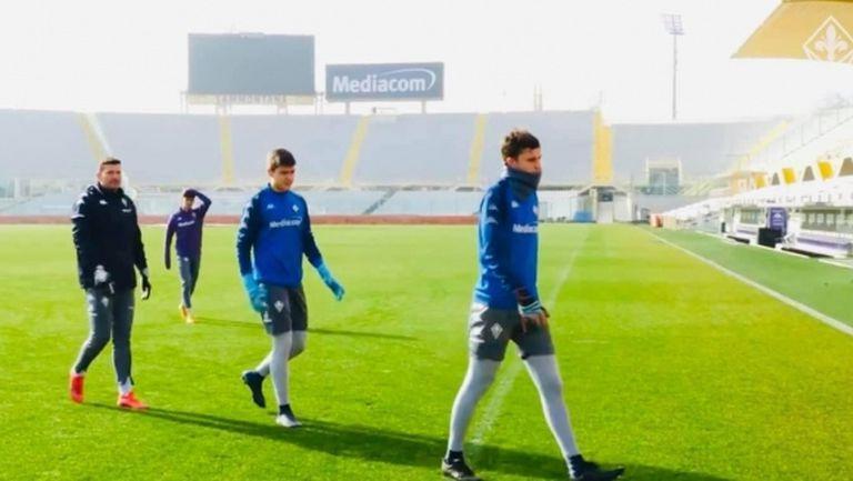 Иван Андонов тренира с първия отбор на Фиорентина