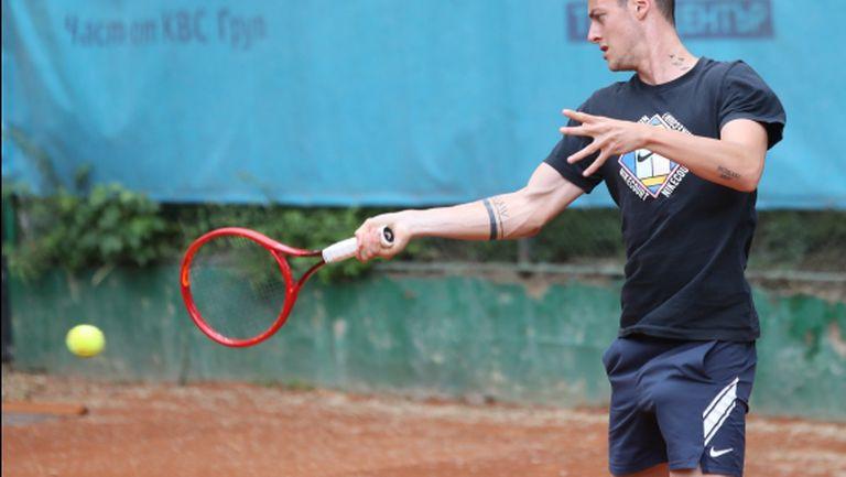 Лазаров е четвъртфиналист в Анталия