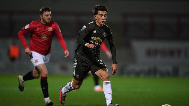 Официално: Манчестър Юнайтед прати младок в Алавес