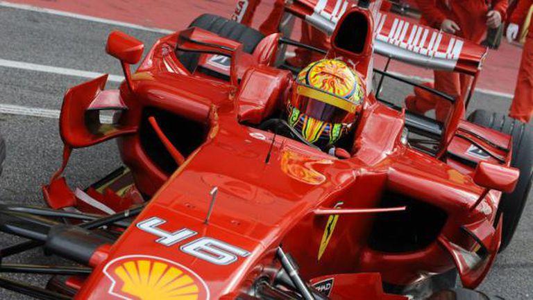 Ферари са били близо до това да пратят Валентино Роси в Заубер като титулярен пилот