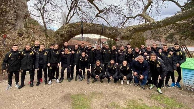 Футболистите на Миньор (Пк) посетиха Златолист