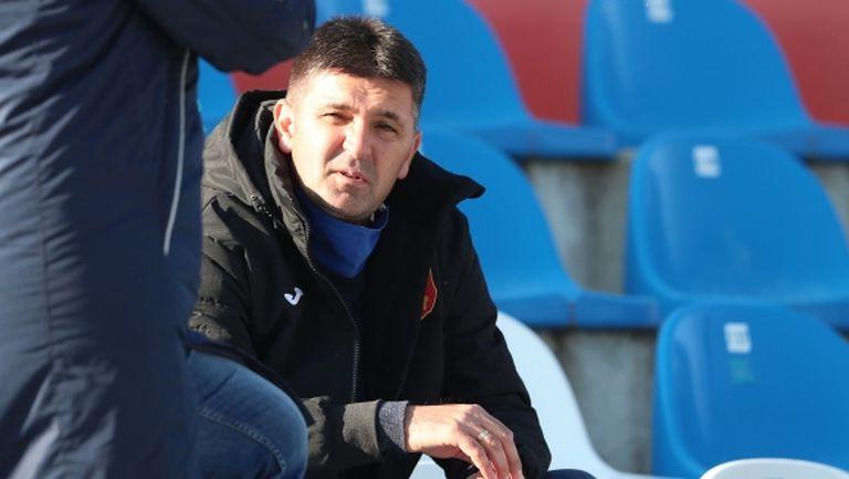 Ангел Стойков: Доволен съм от влагането на състезателите (видео)