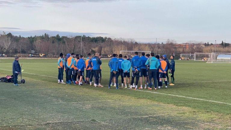 """""""Сините"""" направиха и последната си тренировка в Хърватия"""