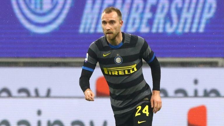 Ериксен остава в Интер поради финансови причини