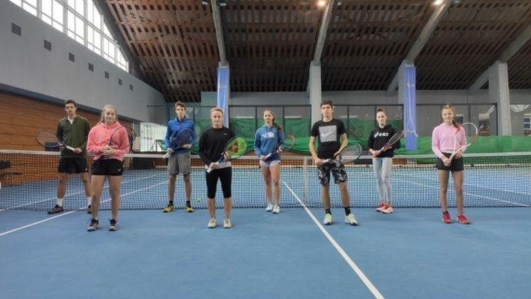 БФТенис проведе тренировъчни сесии за най-добрите таланти до 16 и 18 години