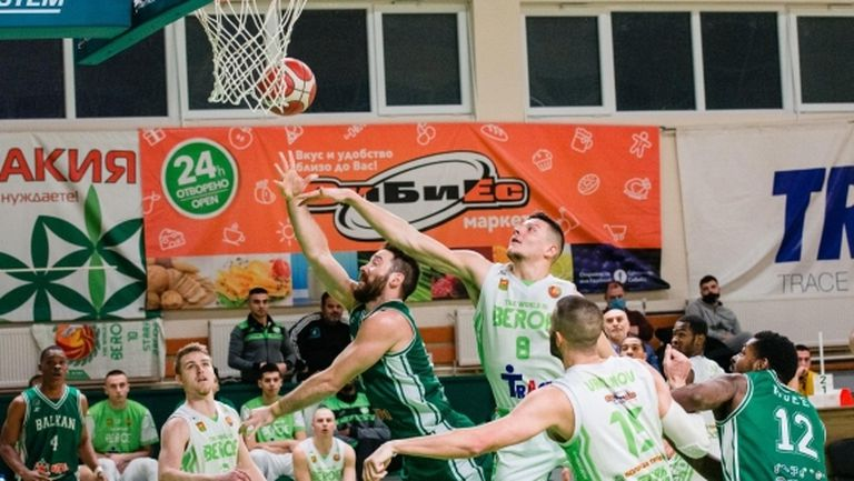 Берое излиза без основен играч срещу Куманово в Балканската лига