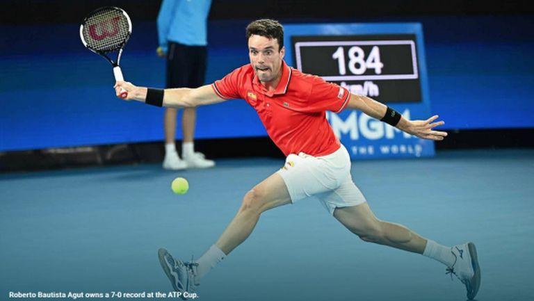 Испания стартира ATP Cup без Надал, но с победа