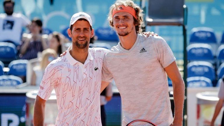 Джокович е уверен, че бъдещето на мъжкия тенис е в добри ръце