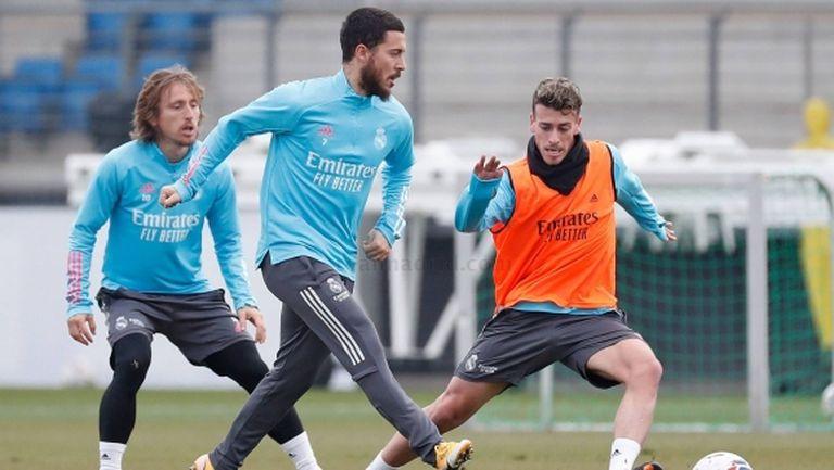 Азар отново притесни Реал Мадрид