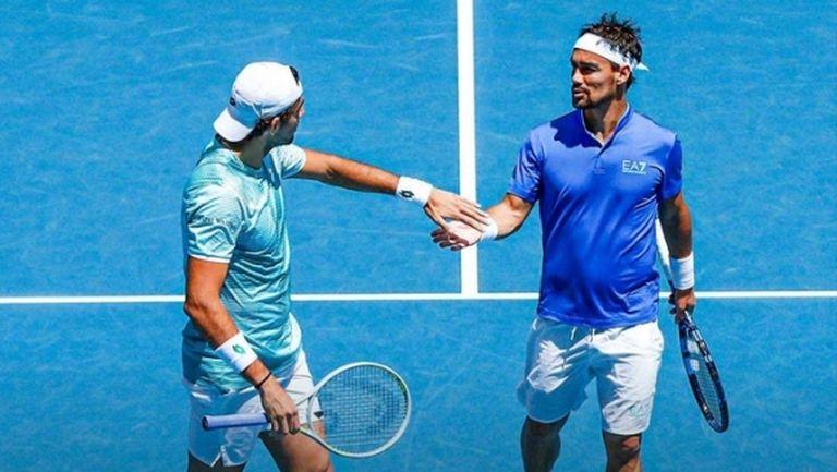 Фонини и Беретина изпратиха Италия на полуфинал в ATP Cup