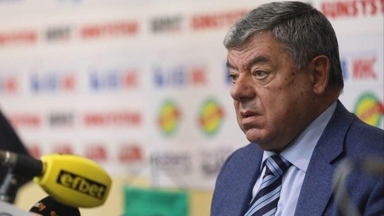 Президентът на Рилски спортист отписа Бургас за домакин на Купата на България