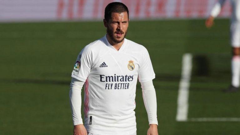 Лоши новини за Реал: Азар отново ще е аут за седмици