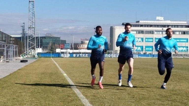 """Новият в Левски проведе първа тренировка на """"Герена"""""""
