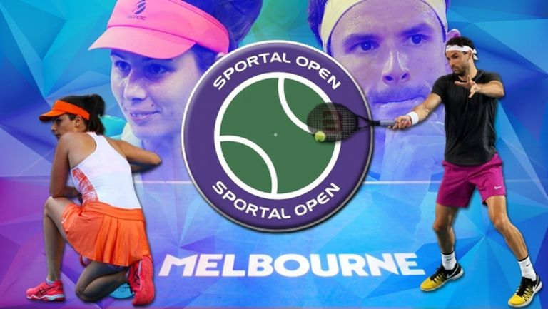 """""""Sportal Open"""": Какво да очакваме от Григор Димитров и Цвети Пиронкова на Australian Open"""