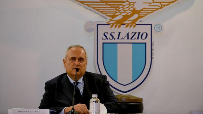 Президентът на Лацио обещава огромни бонуси за титла и елиминиране на Байерн