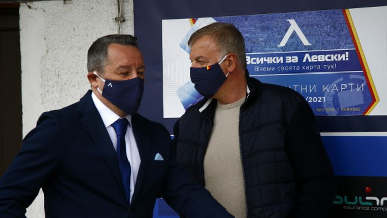 Стоянович даде отчет на Сираков, чака поне още един нов