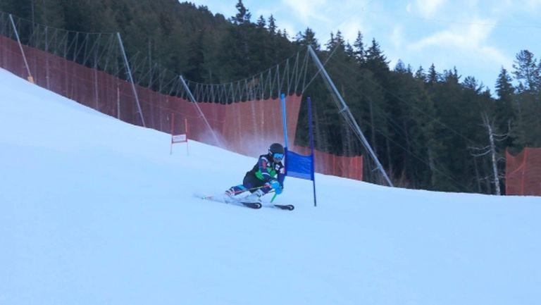 Алберт Попов се готви за Световното по ски в Банско