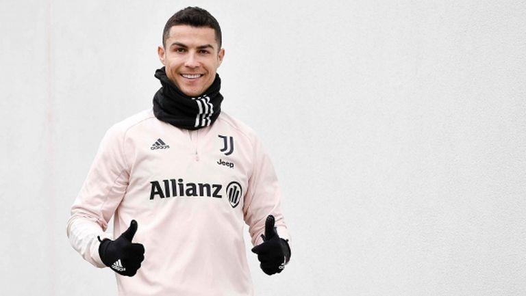 Ето как Ювентус отбеляза рождения ден на Кристиано Роналдо