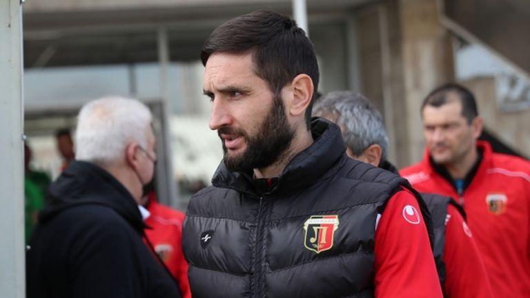 Тунчев: Очаквам тежък мач с Черно море, винаги играем трудно срещу тях