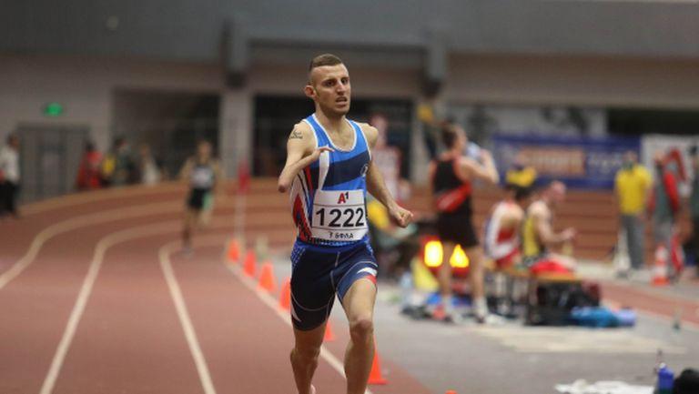 Християн Стоянов и Девора Аврамова са №1 на 1500 метра (видео)