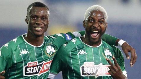 Санкаре дебютира с победен гол за Панатинайкос