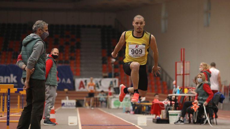 Георги Цонов шампион в тройния скок с два опита
