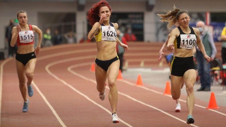 Ванеса Янкова с първа титла при жените, 1 стотна реши златото на 200 метра (видео)