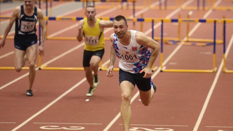 Поредно силно бягане на Станислав Станков и ново злато на 60 м/пр (видео)