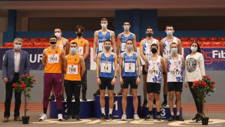 Академик-София и Тракия 96-Пловдив са шампионите на 4 по 400 метра