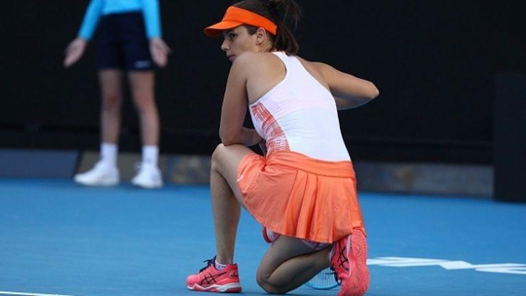 Цвети Пиронкова отпадна от Australian Open още в първия кръг