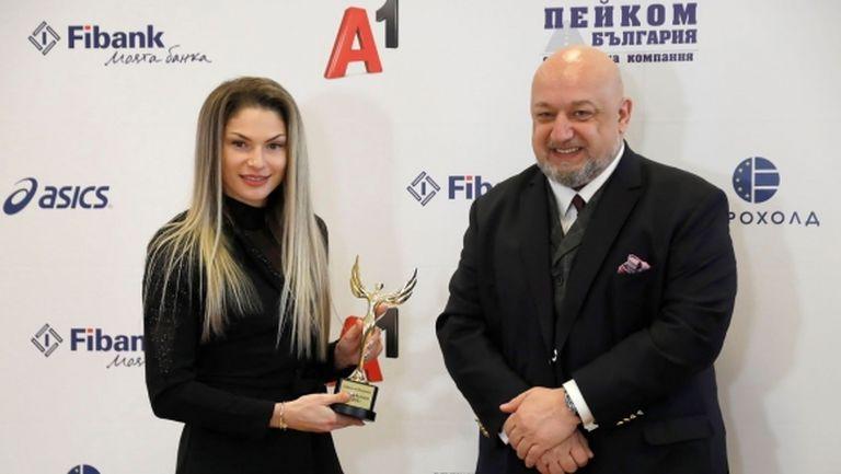 Наградиха Габриела Петрова за Атлет на България за 2020-а
