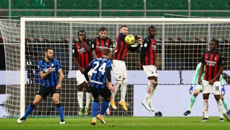 Интер се подигра с Милан чрез Супербоул