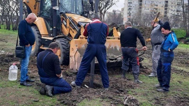 Крушарски инспектира строителството на базата в Тракия