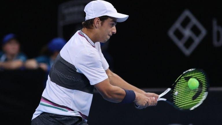 """Андреев отпадна в първи кръг на """"Чалънджър"""" в Италия"""