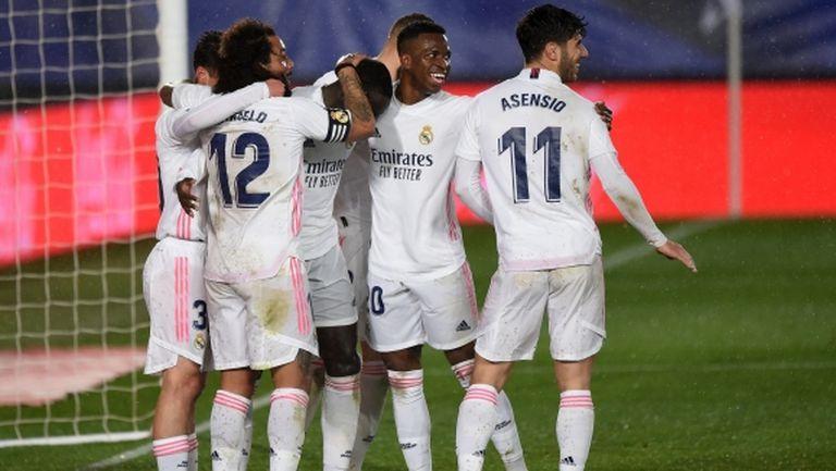 Реал Мадрид съкрати изоставането от Атлетико (видео)