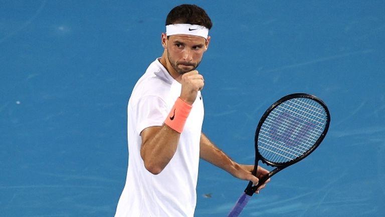 Григор Димитров с нова убедителна победа на Australian Open (видео + галерия)